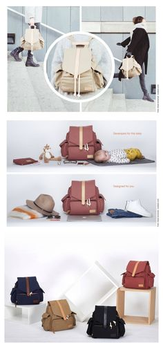 The most stylish diaper bag