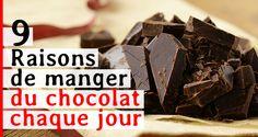 9 raisons de manger du chocolat chaque jour. Depuis des siècles, le cacao est considéré comme un produit alimentaire de valeur. Selon l'empereur aztèque Montezuma, c'était la boisson des guerriers et de l'élite sociale et il possédait un caractè
