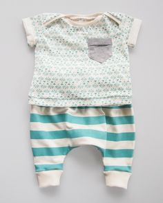 Fable — Organic Cotton Baby Slouch Pants