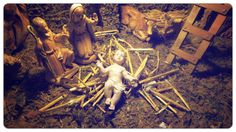 MERRY CHRISTMAS -  NATIVITY SCENE #merrychristmas #christmas #nativity #howto