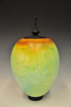 Alternative Raku Sagger Pottery - Glazed with Soluble Metal Salts  jasonpalmerarts.wordpress.com