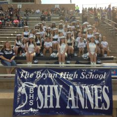 Bryan High School Shy-Annes