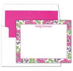 Spring Garden Flat Note Cards