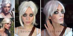 Sosenka Makeup Cosplay Ciri Cirilla The Witcher 3 Wiedźmin 3