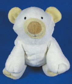 "Ty Pluffies 9"" Plush Cloud Polar Bear Tylux Stuffed Animal Toy #Ty"