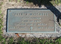 Pete J Mitchell (1907 - 1974) - Find A Grave Photos