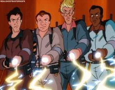 """It spawned a solid cartoon spinoff, """"The Real Ghostbusters."""" 