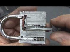 Watch - unshielded padlocks are braindead simple to open without a key / Boing Boing