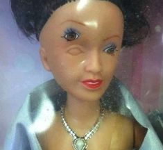 Halloween Barbie | 25 Stupid Mistakes That Created Awesome One-Of-A-Kind Items