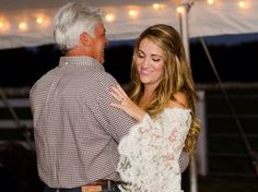 Dancing with Dad: Photo by Elizabeth Henson Photos via Heather Renee Celebrations