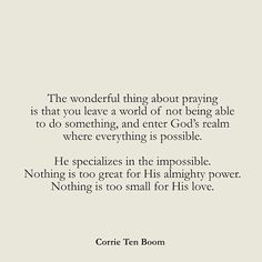 Bible Verses Quotes, Faith Quotes, Scriptures, Quotes About God, Quotes To Live By, Cool Words, Wise Words, Corrie Ten Boom, Soli Deo Gloria