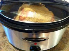 Ham in the crockpot-hoping to try this for Easter!