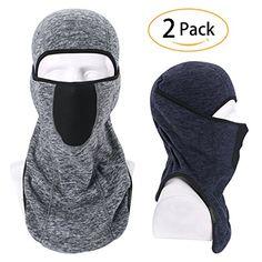 Balaclava-Ski Mask Winter Thicken Outdoor Face Mask Windp... Cold Weather Face Mask, Autumn Winter Fashion, Fall Winter, Balaclava, Survival Gear, Skiing, Fashion Brands, Winter Outfits, Active Wear