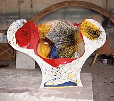 Ron Arad, New Orleans. c. 1999 fiberglass, polyester, and gelcoat