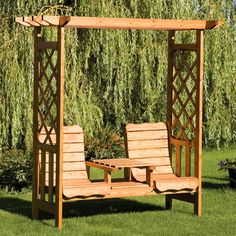 If you are looking for outdoor garden furniture , you may have discovered by now that outdoor wood furniture is not as popular as it once w. Backyard Pergola, Diy Patio, Gazebo, Patio Ideas, Pergola Ideas, Pergola Kits, Backyard Landscaping, Landscaping Ideas, Pergola Designs