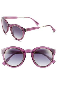 Derek Lam 'Lafayette' 49mm Sunglasses available at #Nordstrom