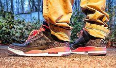 Air Jordan 3 Retro Bright Crimson