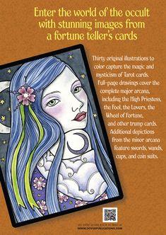 Tarot Designs Coloring Book Dover Publications