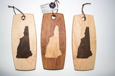 Several New Hampshire inlay cheese boards off to customers tomorrow. If anyone is interested in this or other states let me know. Woodworking Techniques, Woodworking Shop, Cheese Boards, High Quality Furniture, Hampshire, It Works, Creative, Design, Cheese Platters