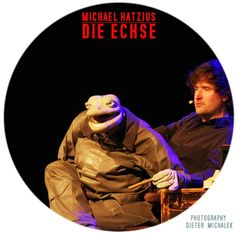 Michael Hatzius / Die Echse photographie by dieter michalek Die Echse, Echse, Hatzius, Michael Hatzius