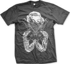 That Sht Cray Mens T-shirt Big Bold Lyrics That Shit Crazy Mens Tee Shirt Large Charcoal Mens Cotton T Shirts, Mens Tee Shirts, Funny Shirts, Cool T Shirts, Marilyn Monroe Tattoo, Gangster Tattoos, Crazy Man, Branded T Shirts, Shirt Designs