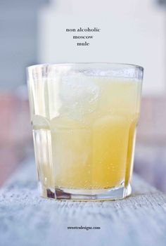Non-alcoholic moscow mule- this is an amazingly refreshing drink! You can add vokda if you want the traditional drink