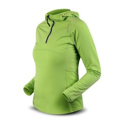 Dámská mikina Trimm FABRI fleece - zelená
