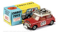 Corgi No.339 1967 Monte Carlo Winner BMC Morris Mini Cooper S | Vectis Toy Auctions