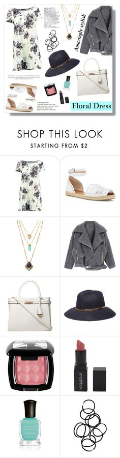 """""""Frida"""" by artistic-biscuit ❤ liked on Polyvore featuring Boohoo, French Connection, Black Pearl, Dorothy Perkins, 8, NYX, Smashbox, Deborah Lippmann and Monki"""