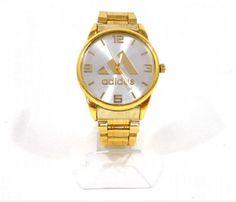 d95f26cfdbf Relógio Masculino Adidas Dourado 1º linha. Peça já o seu. Frete Grátis.