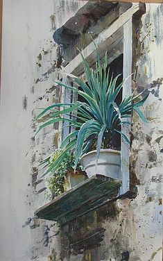 Watercolour paintings by Richard Bolton - Welcome
