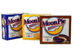 "MoonPie is the favored ""throw"" of the hundreds of Mobile Mardi Gras maskers, dating back to 1952. Today, Mobile consumes more than four million MoonPies annually, and has adopted the delicious treat as an informal emblem."