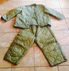 Paintball Protective Gear-Jacket Liner & Pants Liner US Military Excellent!