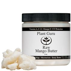 Plant Guru Mango Butter has a melt point ranging from 86?F-98.6?F making it solid at room temperature. Mango Butter is commonly used in the cosmetic and food industries because of it's high oxidative ...