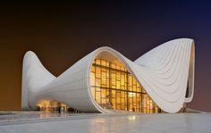 Le centre culturel de Bakou, designé par Zaha Hadid. (iStock / Getty)