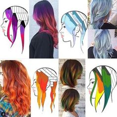 Want to learn a technique or placement similar to these looks? Book my class! It's the 23rd of October! Doing a live demo with custom head sheets for everyone. Limited seats available. Early bird tickets available until the end of the month! Tag a stylist you think should go  #myscconnection
