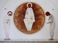 Mother of God, original print on natural canvas and stretcher of modern icon, made by Ivanka Demchuk Altar Art, Orthodox Icons, Byzantine Art, Faith Art, Illustration Art, Biblical Art, Spirited Art, Catholic Art, Sacred Art