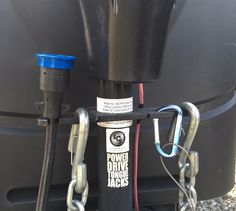 Towing organizer for trailer tongue