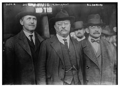 James Rudolph Garfield with Theodore Roosevelt. Edith Roosevelt, Roosevelt Family, Theodore Roosevelt, Us History, American History, 20th President, Bizarre Stories, Party Tickets, America Civil War
