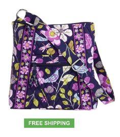 Vera Bradley HIPSTER FLORAL NIGHTINGALE crossbody travel bag purse NWT   58.00 Vera Bradley Sale e8db5b0156411
