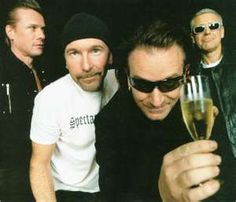 Bono and the boys