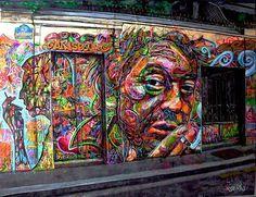 "Artist :""NOWART""Arnaud Rabier "".Gainsbourg House...5 bis Rue verneuil..Paris 7"