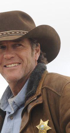 Sheriff Walt Longmire - he can arrest me any day
