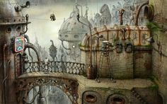 Machinarium: not always easy but the drawings are superb