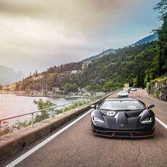 "110k Likes, 207 Comments - Lamborghini (@lamborghini) on Instagram: ""Our breathtaking 2017 Italian Tour across Verona, Garda Lake and Valpolicella has just ended.…"""