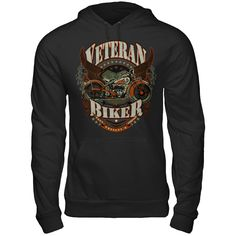 Veteran Biker Are You A Biker? Stand tall with this limited edition shirt!    ACT FAST and click the green button before they're all gone!  Sizes S-6X available!