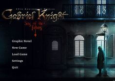 Preview - Gabriel Knight: Sins of the Fathers 20th Anniversary Edition - http://30plusgamer.com/preview-gabriel-knight-sins-fathers-20th-anniversary-edition/