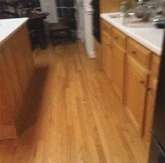 Did I hear the fridge door opening?