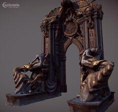 Jose Grandal Castlevania Environment Art