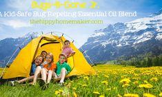 Bugs-B-Gone Jr. - A Kid-Safe Bug Repeling Essential Oil Blend - The Hippy Homemaker